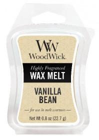 Aromatický vosk, WoodWick Vanilla Bean, provonění minimálně 8 hod