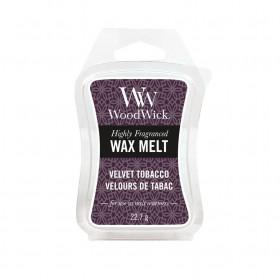 Aromatický vosk, WoodWick Velvet Tobacco, provonění minimálně 8 hod