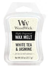 Aromatický vosk, WoodWick White Tea & Jasmine, provonění minimálně 8 hod
