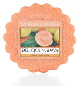 Aromatický vosk, Yankee Candle Delicious Guava, provonění až 8 hod