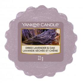Aromatický vosk, Yankee Candle Dried Lavender & Oak, provonění až 8 hod