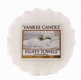 Aromatický vosk, Yankee Candle Fluffy Towels, provonění až 8 hod