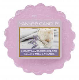 Aromatický vosk, Yankee Candle Honey Lavender Gelato, provonění až 8 hod