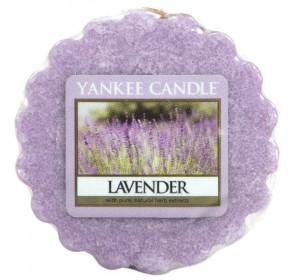 Aromatický vosk, Yankee Candle Lavender, provonění až 8 hod