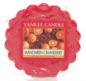 Aromatický vosk, Yankee Candle Mandarin Cranberry, provonění až 8 hod
