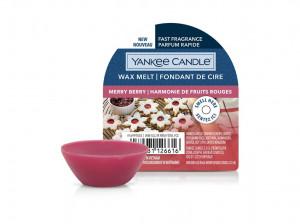 Aromatický vosk, Yankee Candle Merry Berry, provonění až 8 hod