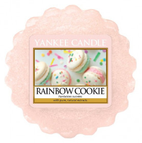 Aromatický vosk, Yankee Candle Rainbow Cookie, provonění až 8 hod