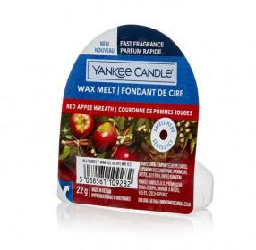 Aromatický vosk, Yankee Candle Red Apple Wreath, nový, provonění až 8 hod