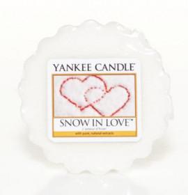 Aromatický vosk, Yankee Candle Snow in Love, provonění až 8 hod