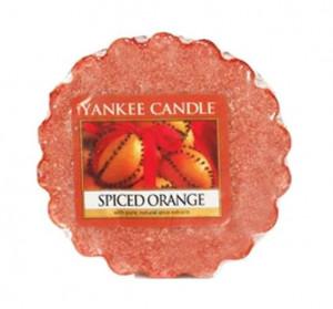 Aromatický vosk, Yankee Candle Spiced Orange, provonění až 8 hod