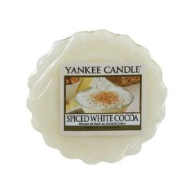 Aromatický vosk, Yankee Candle Spiced White Cocoa, provonění až 8 hod