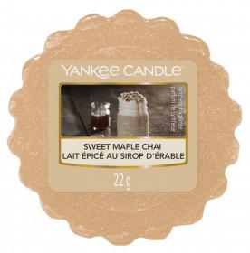 Aromatický vosk, Yankee Candle Sweet Maple Chai, provonění až 8 hod