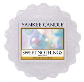 Aromatický vosk, Yankee Candle Sweet Nothings, provonění až 8 hod