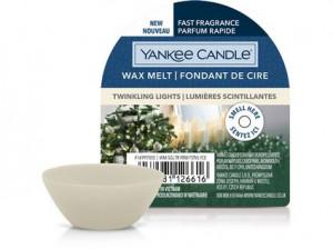 Aromatický vosk, Yankee Candle Twinkling Lights, provonění až 8 hod