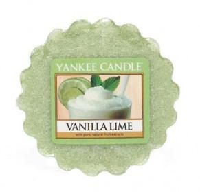 Aromatický vosk, Yankee Candle Vanilla Lime, provonění až 8 hod
