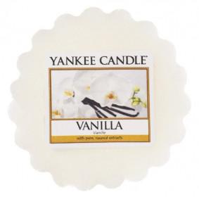 Aromatický vosk, Yankee Candle Vanilla, provonění až 8 hod
