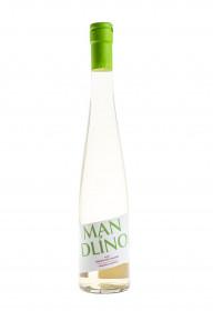Bílé polosladké víno, Hustopečská mandlárna Mandlíno, aromatizované, 12% obj., 0.5 l