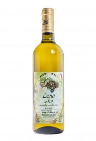 Bílé polosladké víno, Vinařství Josef Valihrach Lena 2019 zemské, 12% obj., 0.75 l