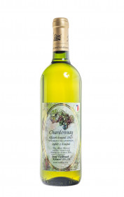Bílé suché víno, Vinařství Josef Valihrach Chardonnay výběr z hroznů 2015, 13.5% obj., 0.75 l