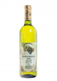 Bílé suché víno, Vinařství Josef Valihrach Muškát moravský 2016, 12% obj., 0.75 l