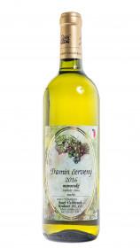 Bílé suché víno, Vinařství Josef Valihrach Tramín červený 2016 zemské, 14% obj., 0.75 l