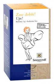BIO bylinný čaj s kořením, Sonnentor Zase dobře - Ups, porcovaný, 18 sáčků