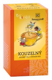 BIO bylinný čaj s ovocem, Sonnentor Bio Rarášci - Kouzelný, porcovaný, 20 sáčků