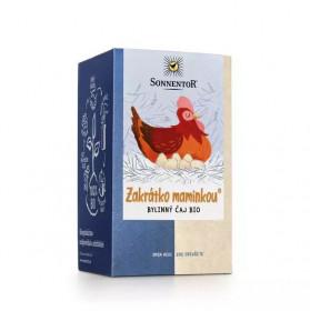 BIO bylinný čaj, Sonnentor Bio Rarášci - Zakrátko maminkou, porcovaný, 20 sáčků
