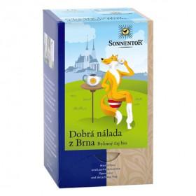 BIO bylinný čaj, Sonnentor Dobrá nálada z Brna, porcovaný, 18 sáčků