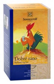 BIO bylinný čaj, Sonnentor Dobré ráno, porcovaný, 18 sáčků