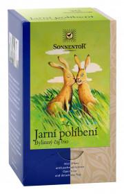 BIO bylinný čaj, Sonnentor Jarní políbení, porcovaný, 18 sáčků