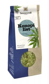 BIO bylinný čaj, Sonnentor Konopí list, Cannabis sativa, sypaný, 40 g