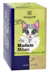 BIO bylinný čaj, Sonnentor Madam Mňau, Limitovaná edice, porcovaný, 18 sáčků