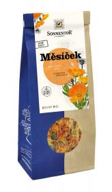 BIO bylinný čaj, Sonnentor Měsíček, Calendula officinalis, sypaný, 50 g