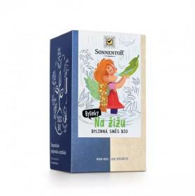 BIO bylinný čaj, Sonnentor Na žížu, porcovaný, 18 sáčků