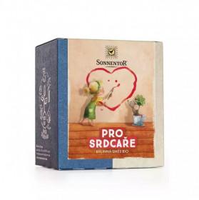 BIO bylinný čaj, Sonnentor Pro srdcaře, porcovaný, 16 pyramidálních sáčků