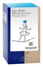 BIO bylinný čaj, Sonnentor Zase dobře - Balzám na nervy, porcovaný, 18 sáčků