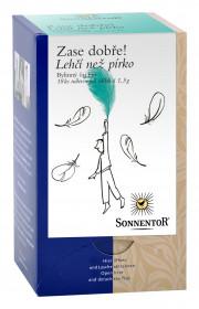 BIO bylinný čaj, Sonnentor Zase dobře - Lehčí než pírko, porcovaný, 18 sáčků