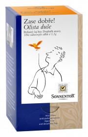 BIO bylinný čaj, Sonnentor Zase dobře - Očista duše, porcovaný, 18 sáčků