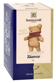 BIO bylinný čaj, Sonnentor Zázvor, Zingiber officinale, porcovaný, 18 sáčků