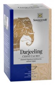 BIO černý čaj, Sonnentor Darjeeling, porcovaný, 18 sáčků