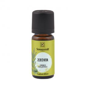 BIO éterický olej, Sonnentor Cedrové dřevo, 10 ml