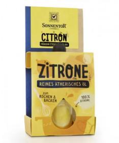 BIO éterický olej, Sonnentor Citron, pro kulinářské účely, 4.5 ml