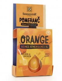 BIO éterický olej, Sonnentor Pomeranč, pro kulinářské účely, 4.5 ml