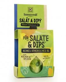 BIO éterický olej, Sonnentor Salát a dipy, pro kulinářské účely, 4.5 ml