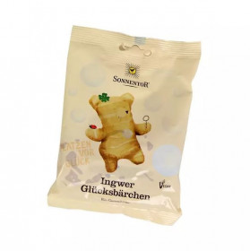 BIO gumoví medvídci, Sonnentor Štěstí se zázvorem, 100 g