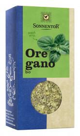 BIO koření, Sonnentor Oregano neboli Dobromysl, Origanum vulgare spp. Hirtum, krabička, 18 g