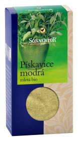 BIO koření, Sonnentor Pískavice modrá mletá, Trigonella caerulea, krabička, 40 g