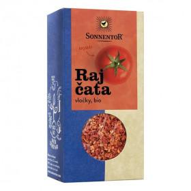 BIO koření,  Sonnentor Rajčata vločky, Solanum lycopersicum, krabička, 45 g