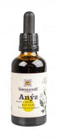 BIO olej, Sonnentor Anýz, lisovaný za studena, 50 ml